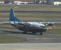 El avión siniestrado es un Antónov An-12 de fabricación rusa con cuatro motores.