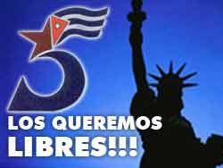 Demandarán excarcelación de antiterroristas cubanos presos en EE.UU.