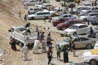La ONU cifra de 1,2 millones de personas que han abandonado Irak a causa del conflicto.