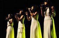 Cuarteto Sexto Sentido, en Gala por el 15 Aniversario de la Mesa Redonda. Foto: Roberto Garaicoa.