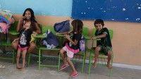 En el Cabildo Infantil 2015, que tuvo lugar en la ciudad mexicana de Saltillo, los escolares demostraron su preocupación por la falta de seguridad en las escuelas. Foto: Reuters