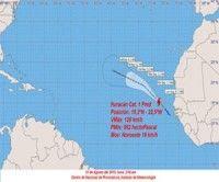 El próximo aviso de ciclón tropical sobre el huracán categoría uno Fred se emitirá a las seis de la tarde de hoy.