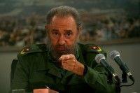 Fidel en la Mesa Redonda. Foto: Ismael Francisco.