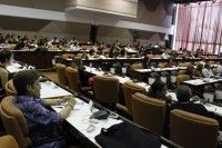 Durante varias jornadas el Palacio de Convenciones acogió a investigadores de la comunicación. Foto: Jose Raúl Concepción.