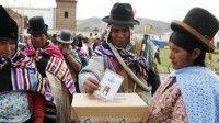 Los bolivianos fueron consultados por primera vez para modificar el Artículo 168 de la Constitución. Foto: AP