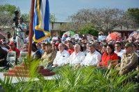 Durante el encuentro se ratificó la firme voluntad de defender la Patria, así como lo hicieron los mambises y otras generaciones de cubanos a lo largo de las luchas libertadoras.