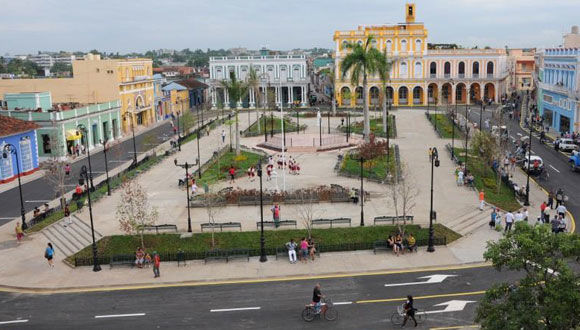 Parque Serafín Sánchez, en Sancti Spíritus