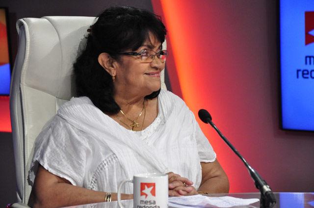 Digna Guerra, vicepresidenta de la UNEAC detsacó que pertener a la organziación es un reconocmiento a la obra de cada creador.
