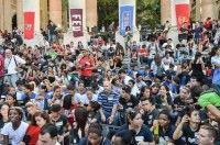 Miles de jóvenes dijeron No al bloqueo