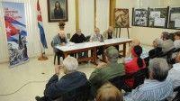 Presentan en La Habana libro sobre expedición del yate Granma