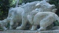 Museo Zoológico de Piedra en Guantánamo es el producto de aproximadamente veinte años de trabajo del escultor Ángel Iñigo Blanco.