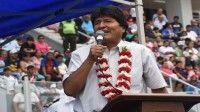 El mandatario boliviano rechazó las pretensiones de Luis Almagro de suspender a Venezuela de la OEA.