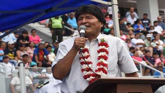 Evo Morales afirmó que los pueblos latinoamericanos tienen la responsabilidad de garantizar la unión