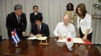 Japón contribuirá a la implementación de importantes proyectos para el desarrollo económico y social de Cuba