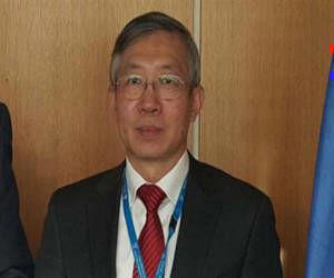 Dazhu Yang se reunirá con el presidente de la AENTA, Daniel López, para intercambiar sobre el estado de la Cooperación Técnica
