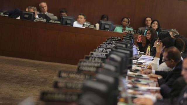 El año pasado también hubo sesiones extraordinarias sobre Venezuela. | Foto: EFE