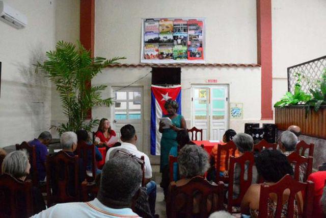 Asamblea de rendición de cuenta en Matanzas. Foto: Randy Perdomo García