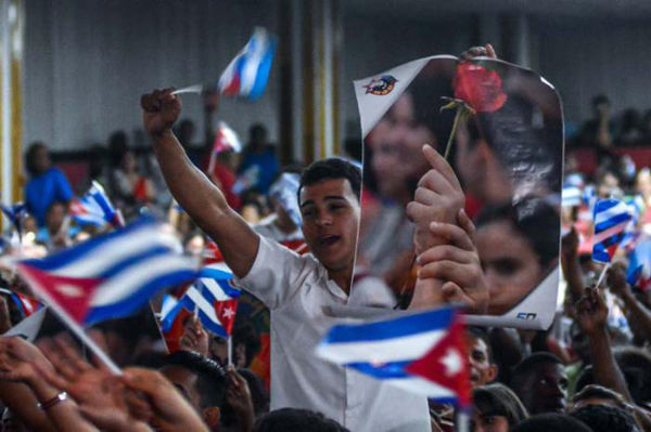 Los jóvenes encabezarán la marcha en La Habana. Foto: Abel Padrón