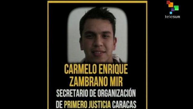 Dirigente del Partido Opositor de Venezuela, Primera Justicia