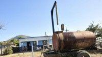 El nuevo cargadero de agua de La Güira es una de las obras concluidas   Foto: Vicente Brito/ Escambray