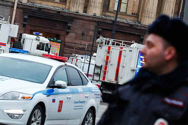 La policía realizó comprobaciones, con técnica canina y otros equipos.