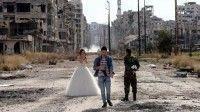 Desplazados en Siria regresan a Alepo