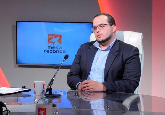 Sergio Alejandro Gómez Gallo, jefe de la página de internacionales del periódico Granma