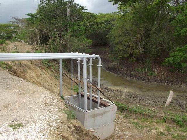 Nuevas obras de fábrica para aprovechar todo el potencial hídrico. Foto: Miozotis Fabelo