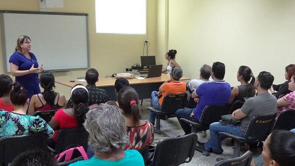 Encuentro de los profesores del claustro, egresados y estudiantes de la Maestría de Calidad de Software. Foto: Alberto Medina Cruz