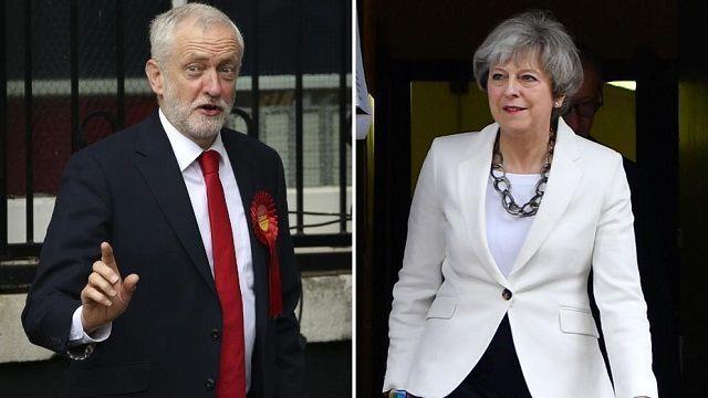 Theresa May asume derrota en elecciones anticipadas en el Reino Unido