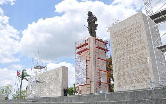 Complejo Escultórico Ernesto Che Guevara en Villa Clara, Cuba