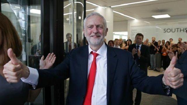 """Corbyn aseguró que el Reino Unido no puede enfrentarse """"a un período de gran inestabilidad"""""""