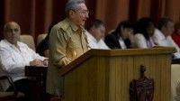 Presidente de Cuba, Raúl Castro en la Asamblea Nacional del Poder Popular