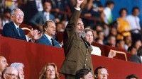 Fidel Castro en Barcelona un 26 de Julio