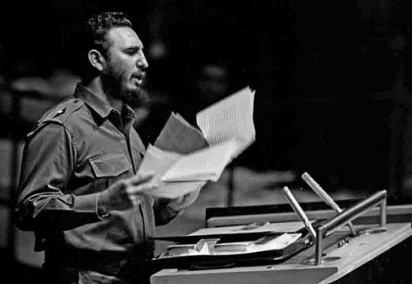 Fidel siempre defendió una mejoría en las relaciones entre Estados Unidos y Cuba sobre bases de respeto a la soberanía de nuestro país. Foto: Archivo