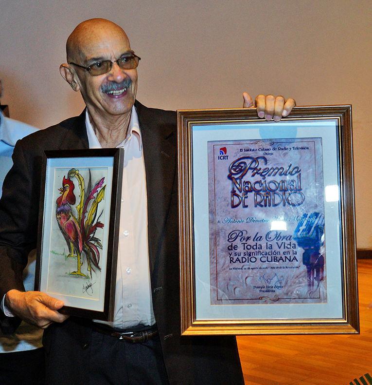 Antonio Demetrio Moltó Martorell, Premio Nacional de Radio