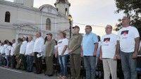 Acto por el aniversario 60 del histórico acontecimiento del Levantamiento en Cienfuegos