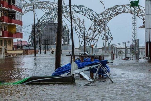Inundaciones en Cuba