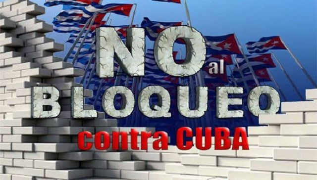 Centro Europa-Tercer Mundo denuncia el injusto bloqueo impuesto por Estados Unidos a Cuba