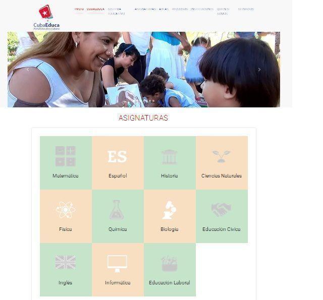 Nueva visualidad y la opción del Repasador en línea son algunas de las prestaciones que estrenará el portal CubaEduca