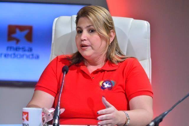 Gisleidy Sosa Cabrera, jefa del Departamento de Relaciones Internacionales del Comité Nacional de la UJC, recordó los antecedentes históricos.