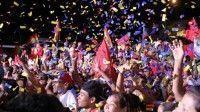 En Petare, estado Miranda, celebraron la victoria de Héctor Rodríguez. | Foto: AVN