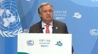 El Secretario General de la ONU, António Guterres, durante su discurso ante el COP 23. Foto: ONU