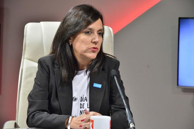 La representante de la UNICEF en Cuba, María Machicado Terán, refirió que la propuesta de ese día es que los niños y las niñas sean los protagonistas de la celebración.