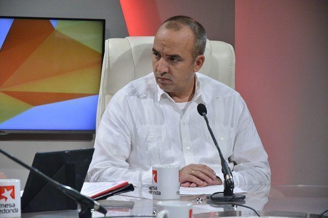 Ernesto Soberón, director de DACRE, en la Mesa Redonda.