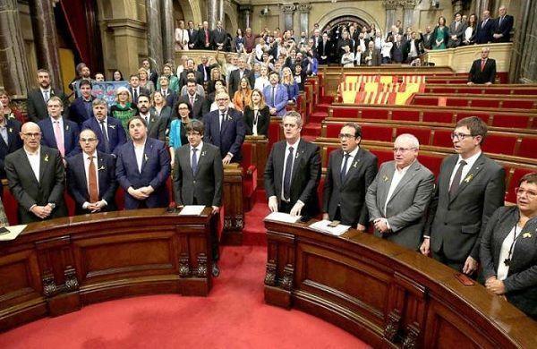 El Parlamento de Cataluña aprobó una ley secesionista y convocó a un referendo por la independencia Foto: Europa.EU