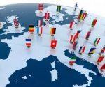 Los 28 estados miembros de la Unión Europea. Fotomontaje tomado de www.mooremarket.es