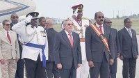 Raúl Castro en Antigua y Barbuda. Foto: Estudio Revolución