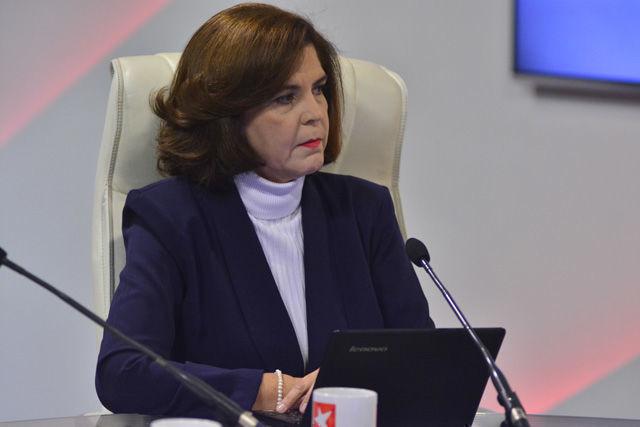 Silvia María Navarro Quintero, directora general del Instituto Central de Ciencias Pedagógicas del Ministerio de Educación