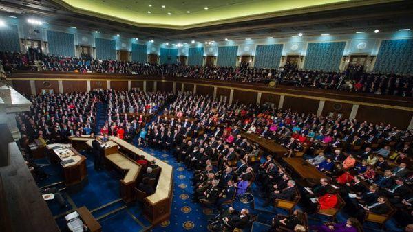 El discurso sobre el Estado de la Unión es una memoria y cuenta del presidente estadounidense.  Foto: EFE
